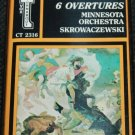 Beethoven 6 Overtures - classical music cassette tape