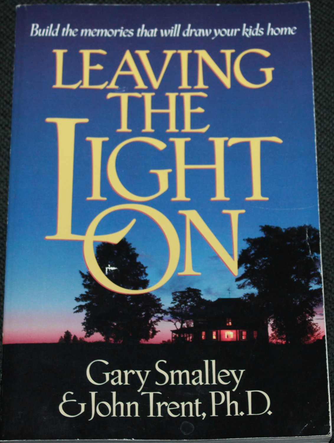 Leaving the Light On -  family parenting by Gary Smalley - parents child teen children kids