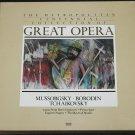 Time LIfe Great Opera Mussorgsky  Borodin Tchaikovsky - Record Set