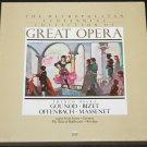 Time LIfe Great Opera Gounod Bizet  Offenbach Massenet - Record Set set