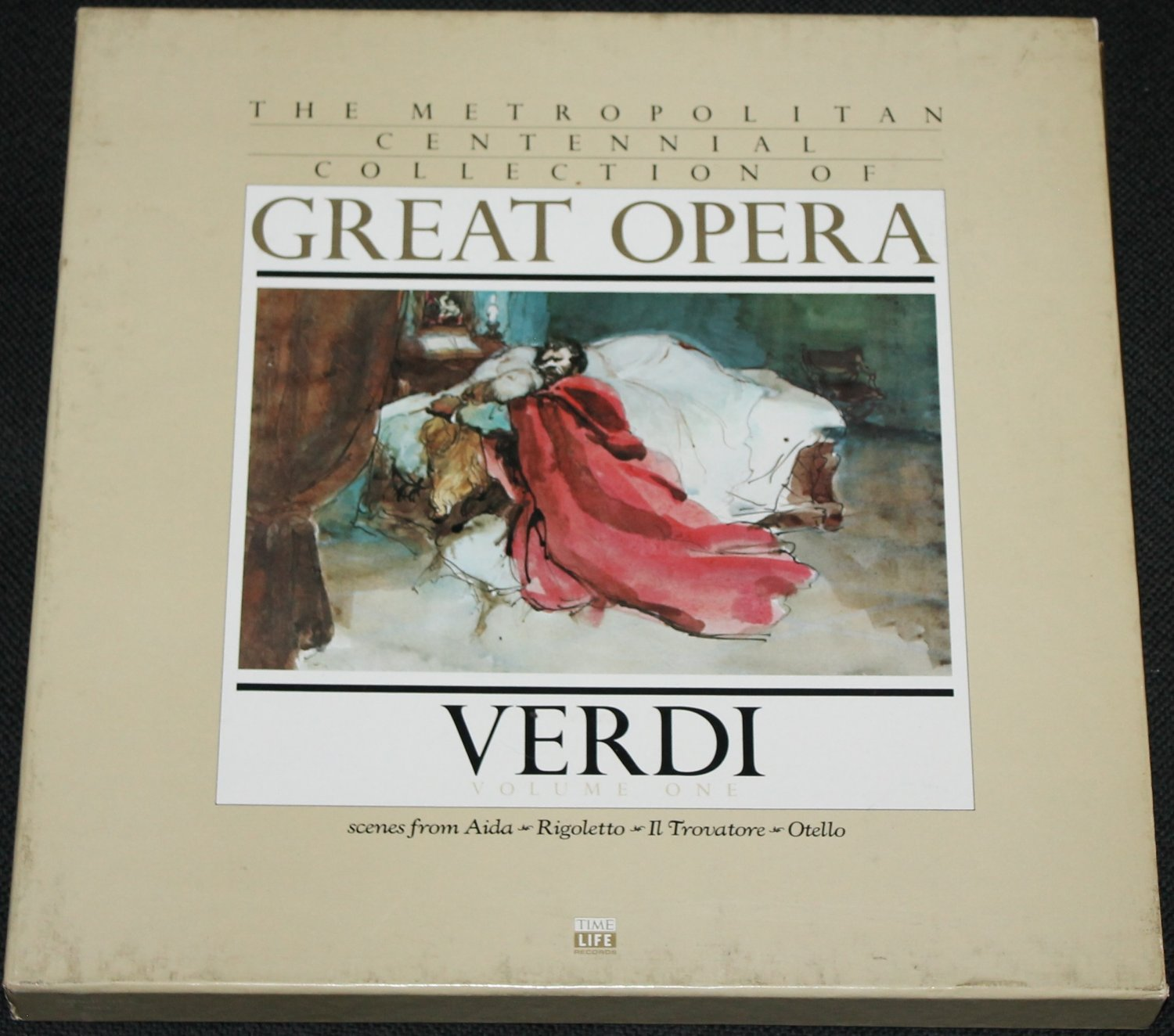 Time LIfe Great Opera - Verdi Record Set