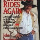 Peterman Rides Again by John Peterman hardcover book