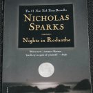 Nights In Rodanthe romance novel by Nicholas Sparks
