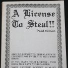 License to Steal - businesss money successs book
