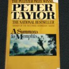 A Summons to Memphis by Peter Taylor paperback book