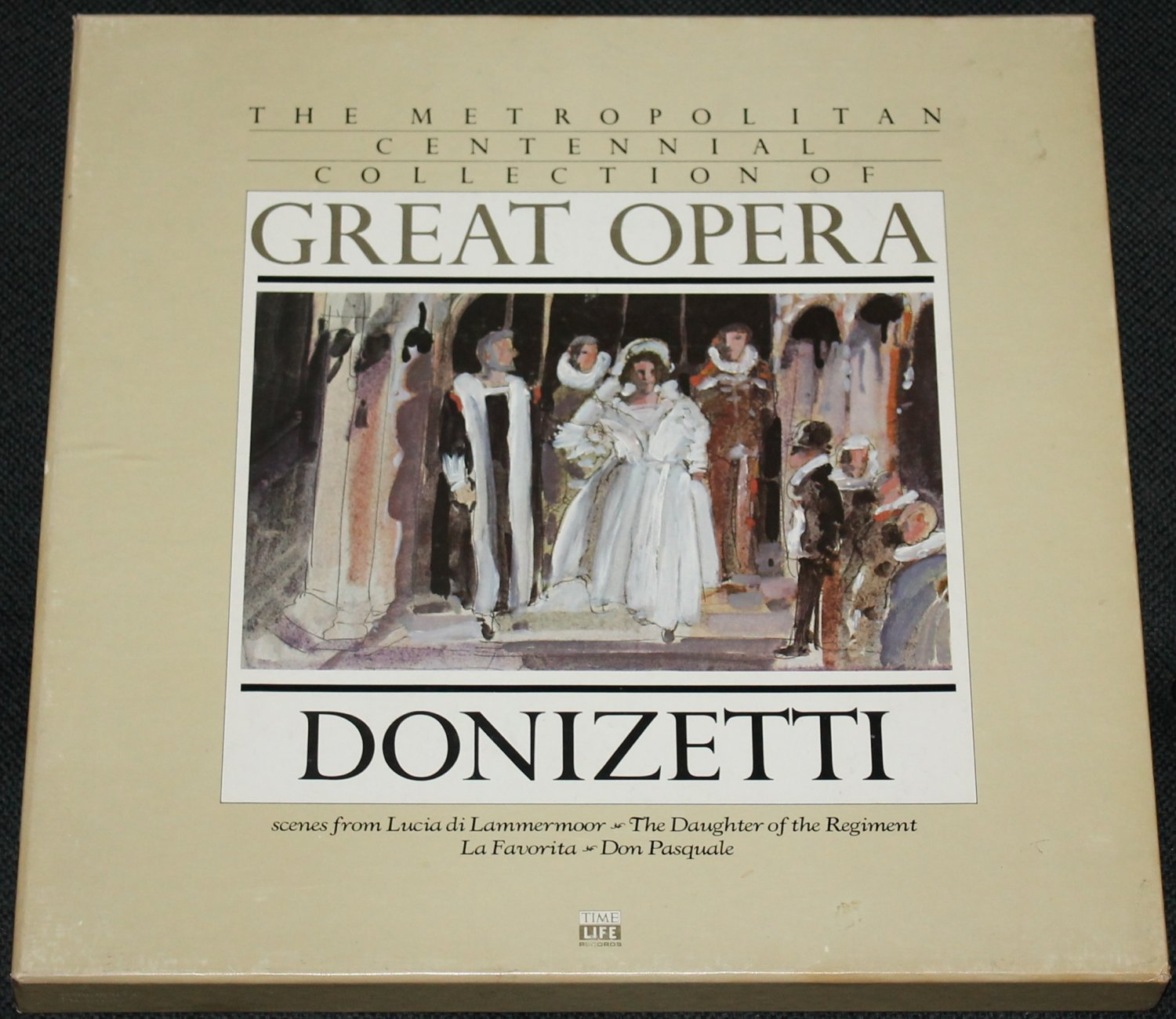Great Opera Donizetti Record Set