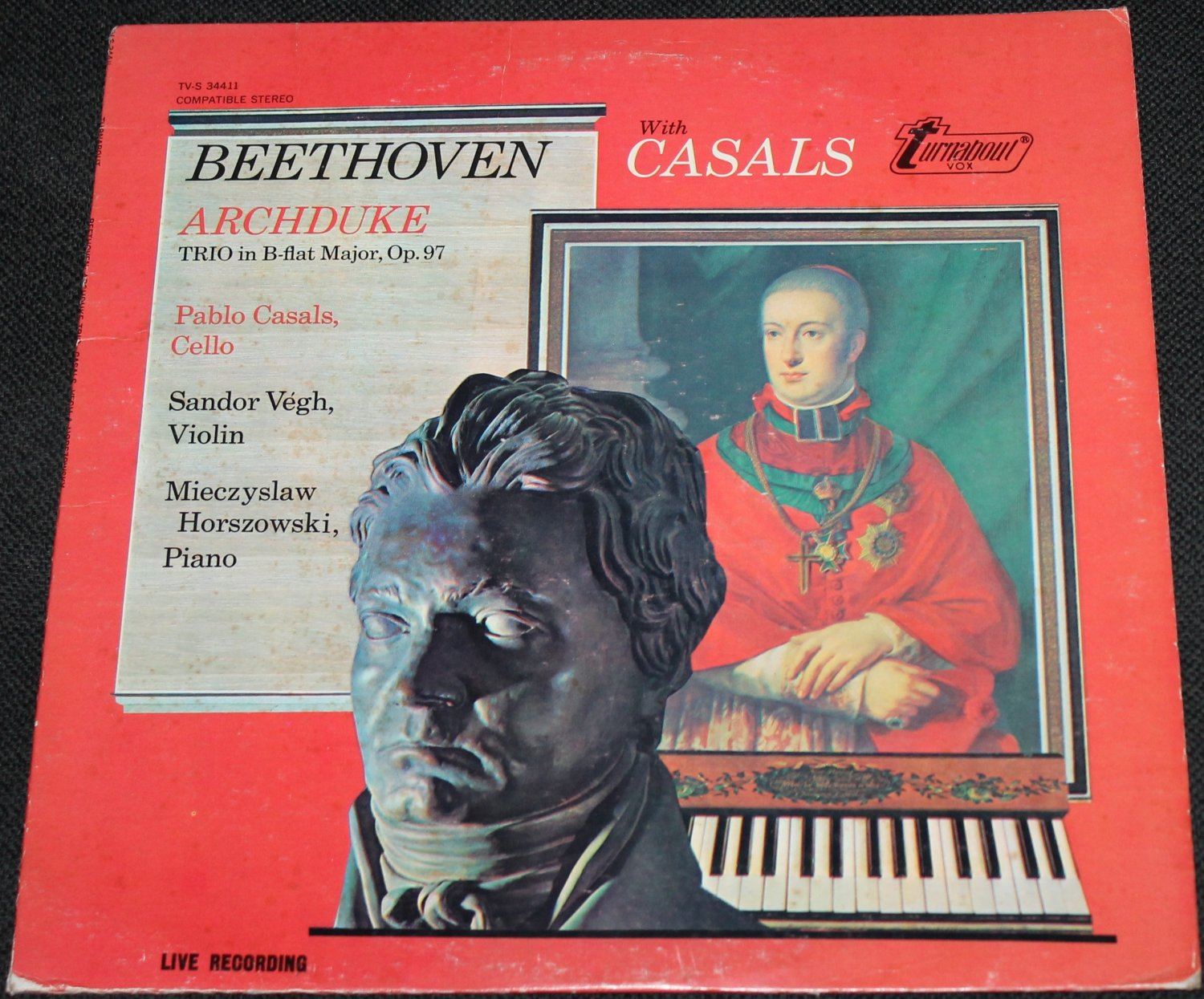 Beethoven With Casals - record