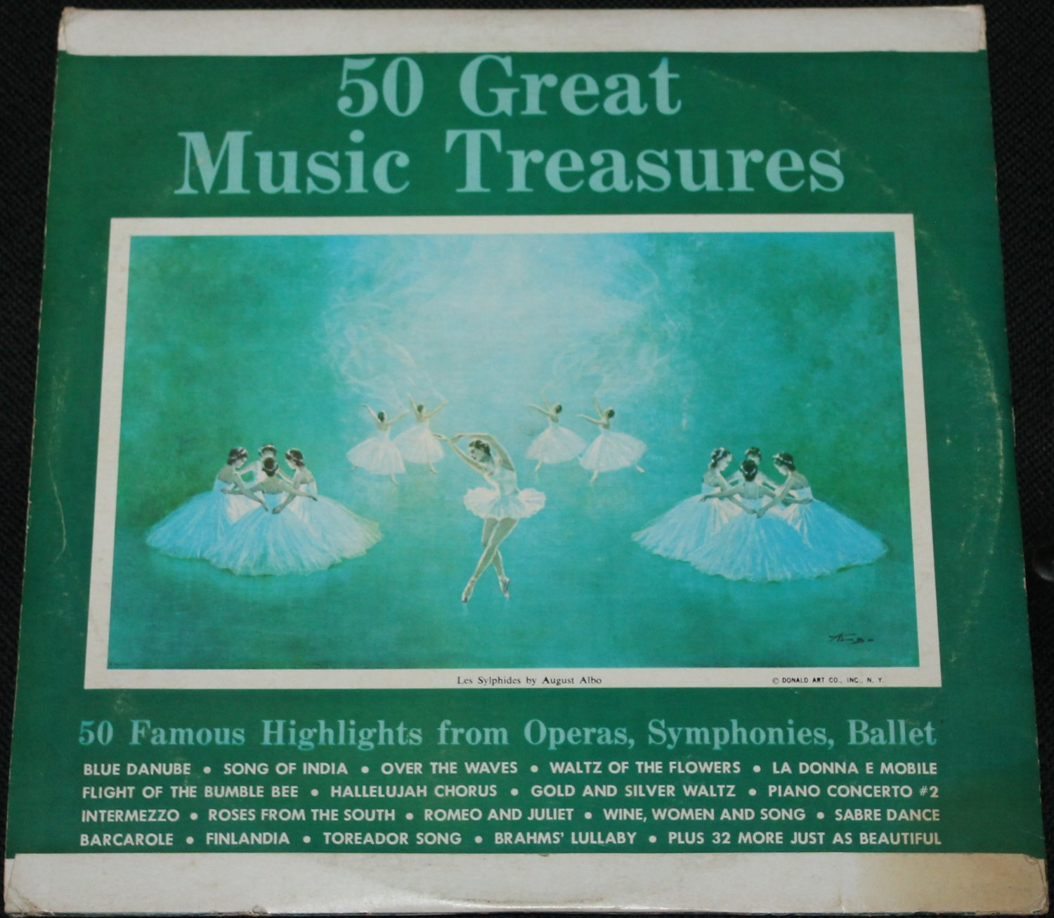 50 Great Music Treasures Record - 50 Famous Highlights from Operas, Symphonies, Ballet