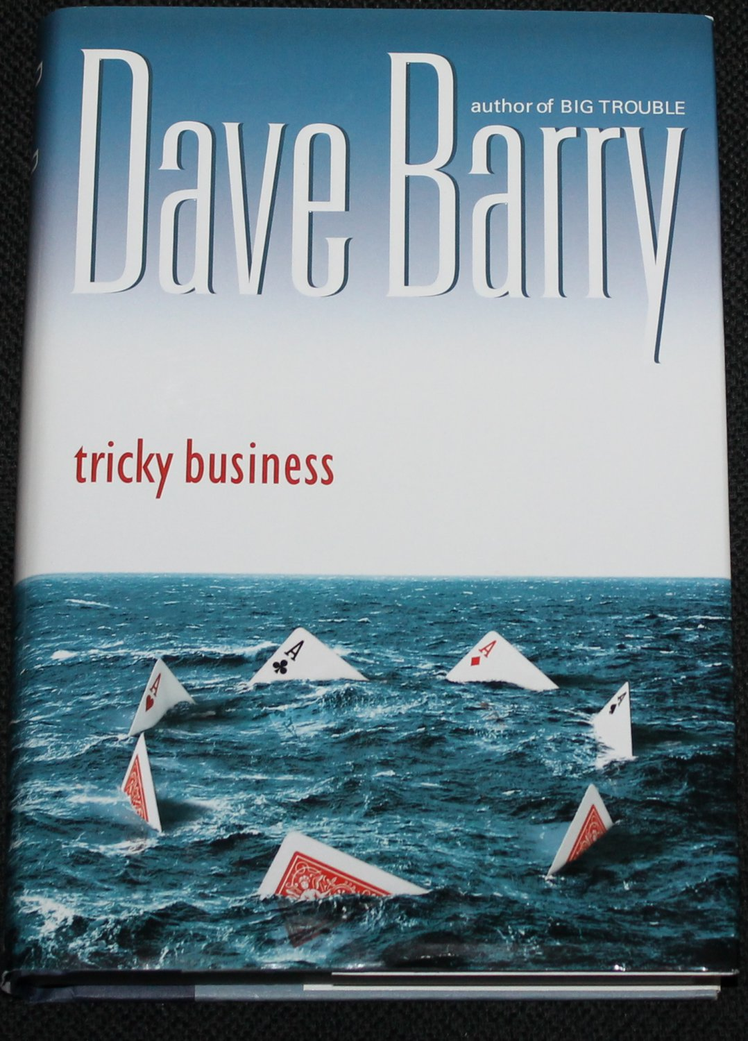 Tricky Business novel book by