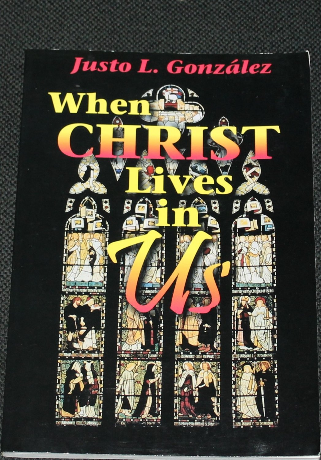 When Christ Lives In Us by Justo L.Gonzalez Christian book