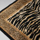 Tiger Zebra Stripes Rug Matt - living room bedroom bath decor