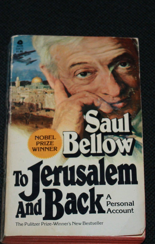 To Jerusalem and Back paperback book