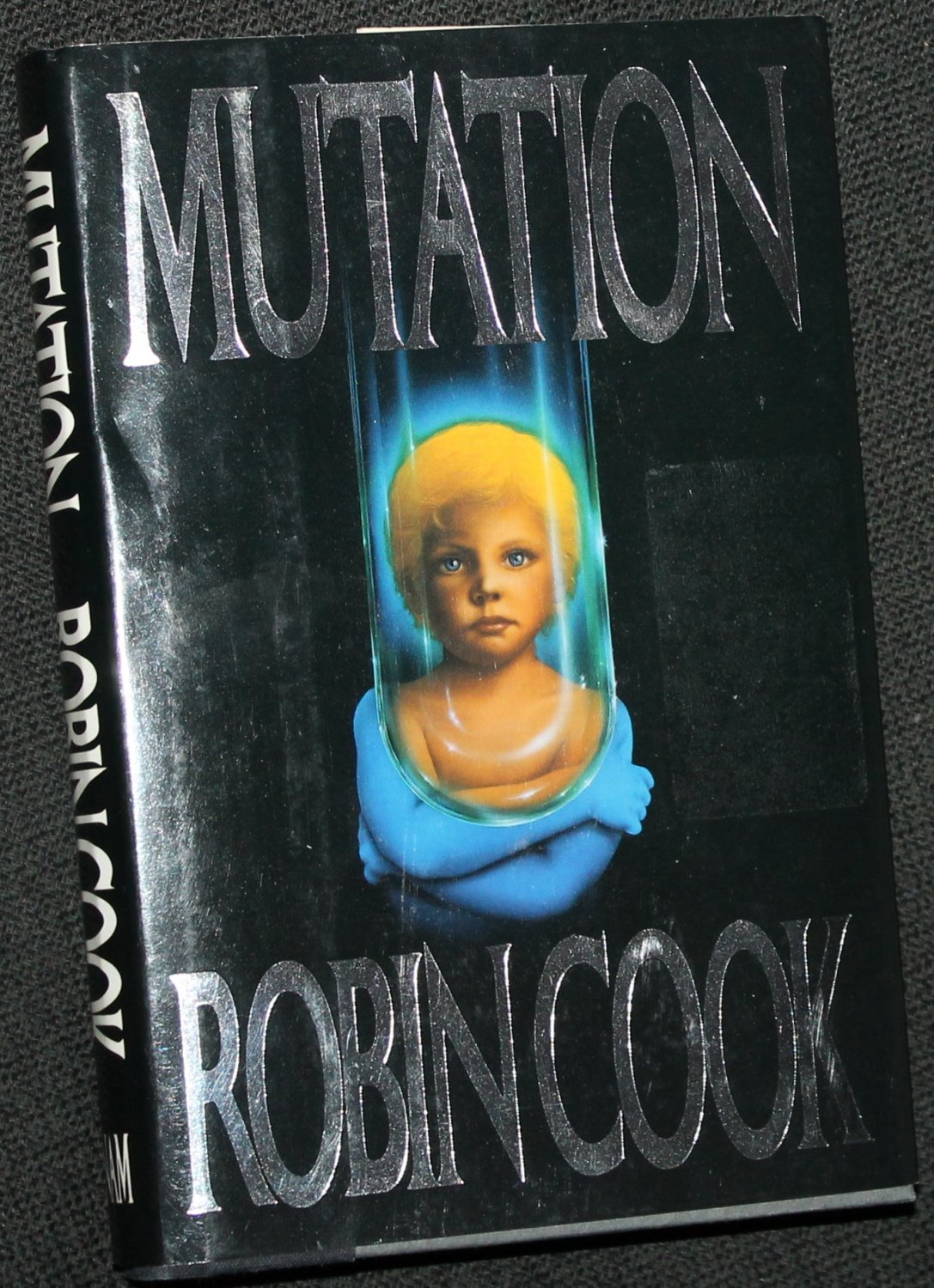 Mutation novel by Robin Cook - hardcover book