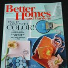 Better Homes and Gardens magazine March 2016