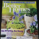 Better Homes and Gardens magazine April 2012