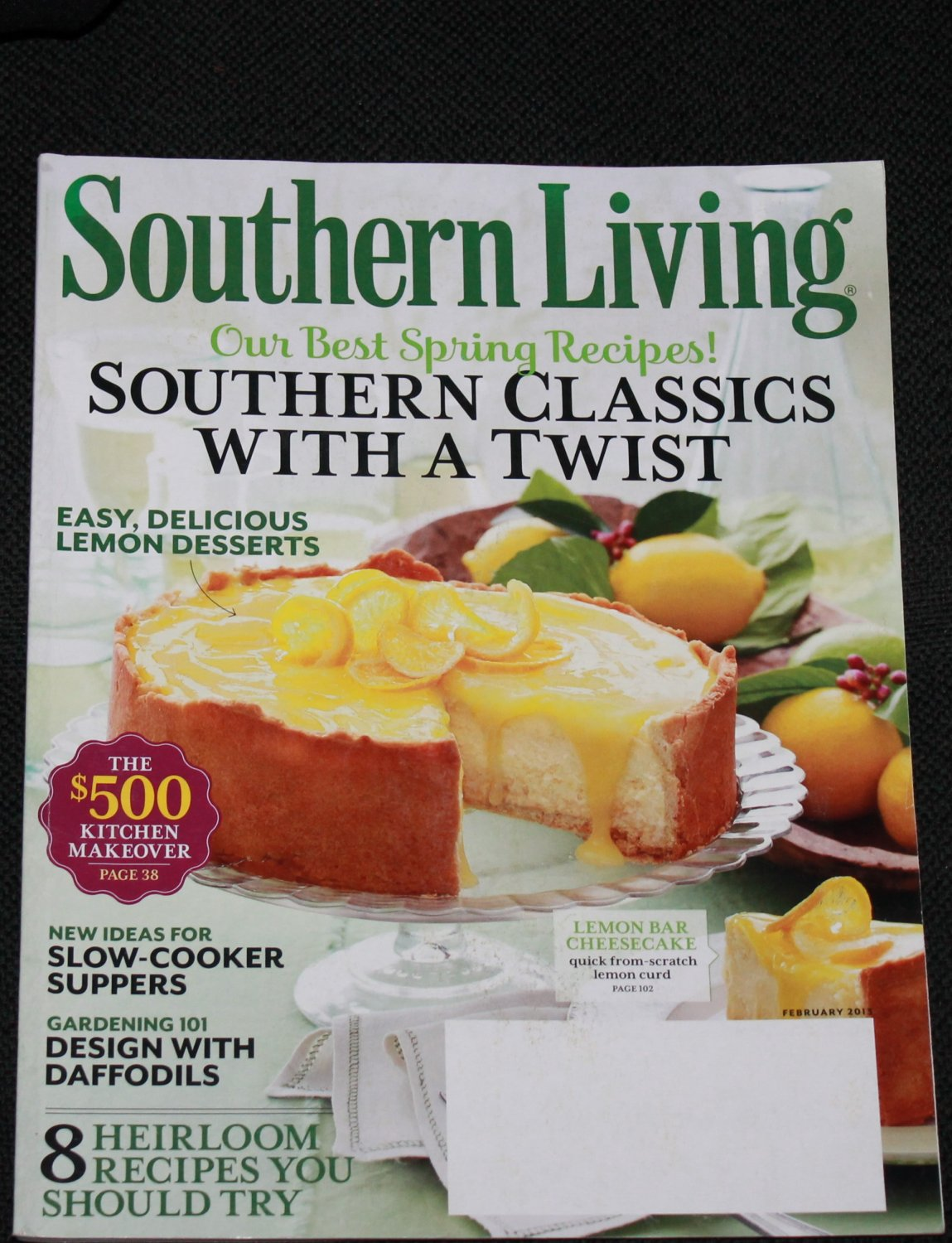 Southern Living Magazine - Issue: Vol.48 Number 2  - February 2013