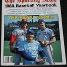 1989 Baseball Yearbook - The Sporting News - sports magazine