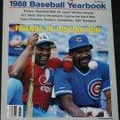 1988 Baseball Yearbook - The  Sporting News - sports magazine