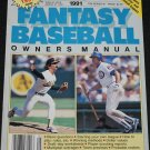 1991 Fantasy Baseball Owner's Manual - The Sporting News sports magazine