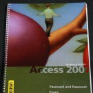 Introductory Access 200 Microsoft Office by Pasewark Evens