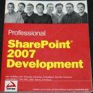 Sharepoint 2007 Development - computer book