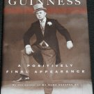 Alec Guiness A Positively Final Appearance -  biography hardcover book