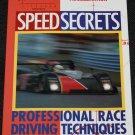 Speed Secrets Professional Race Driving Techniques - car auto racing book Ross Bentley