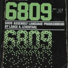 6809 Assembly Language by Lance A. Leventhal computer programming book