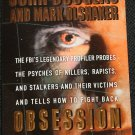 Obsession true crime paperback book John Douglas and Mark Olshaker