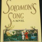 Solomon's Song novel by Robert Kells Dorr