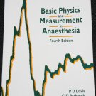 Basic Physics and Measurement in Anaesthesia Davis, Parbrook, Kenny