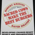 Sacred Cows by Robert Kriegel