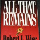 All That Remains Robert L Wise