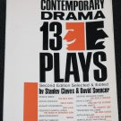 Contemporary Drama 13 Plays Clayes & Spencer