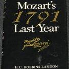 Mozart's Last Year