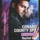 Conrad County Spy romantic suspense Rachel Lee