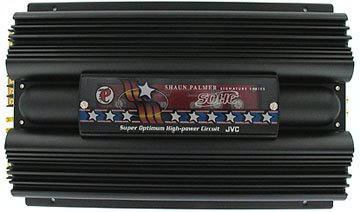 JVC 520W 4-Channel Brigeable Amplifier