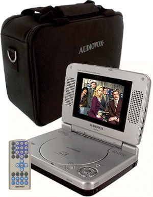 Audiovox 5'' LCD DVD Player