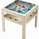 Magnetic Sea Life Table Children entertained controling sharks, fish, crabs, starfish, whale