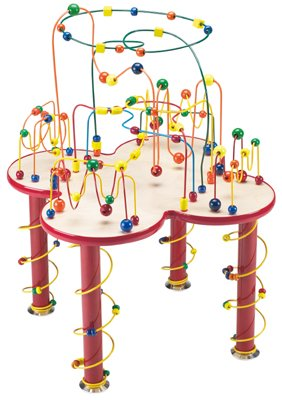 Ultimate Fleur Rollercoaster Table wonderful activity center for homes, schools, waiting rooms