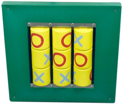 Busy Cube - Tic-Tac-Toe Wall Panel addition to any office, home, waiting room