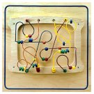 Sculpture Maze Wall Panel Great for waiting rooms, homes, and play areas