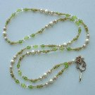 EXQUISITE FAUX PEARL~BEADED LANYARD~ID BADGE HOLDER~LANYARDS