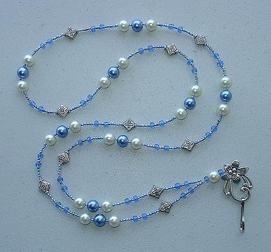 FAUX PEARL~BEADED LANYARD~ID BADGE HOLDER~LANYARDS