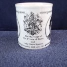 Marriage of Prince of Wales and Lady Diana Spencer Mug