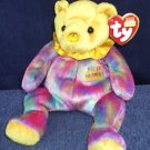 NOVEMBER the Birthday Bear Ty 2001