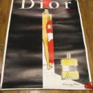 Vintage Christian Dior Eau Sauvage Advertising Poster