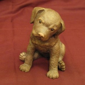 2003 Lenox Chocolate Labrador Breed Puppy