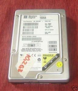 10.2GB IDE Western Digital WD Caviar WD102AA-00AAA2