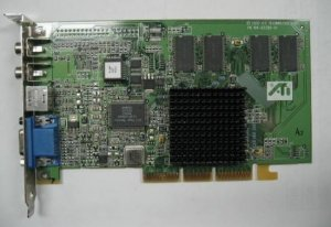 ATI-109-63200-01-VIDEO CARD RAGE 128 PRO 32MB AGP OEM